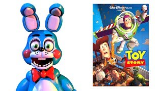 FNAF Characters and their favorite MOVIES