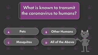 Trivial Purrsuit – Coronavirus Transmission