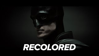 The Batman - Camera Test (Recolored)
