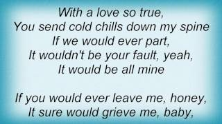 Aaron Neville - How Could I Help But Love You Lyrics