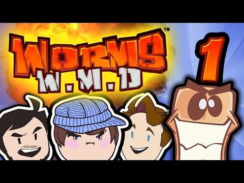 Worms W.M.D: Ross Has Worms - PART 1 - Steam Train