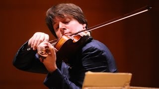 Violinist Joshua Bell turns train station into concert hall