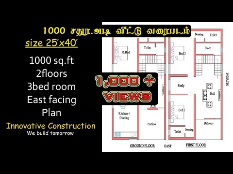 Download 30 40 South Face House Plan Walk Through Video 3GP Mp4 FLV