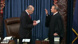 US Supreme Court chief justice sworn in to preside over Trump | AFP