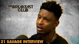 21 Savage Interview With The Breakfast Club (8-4-16)