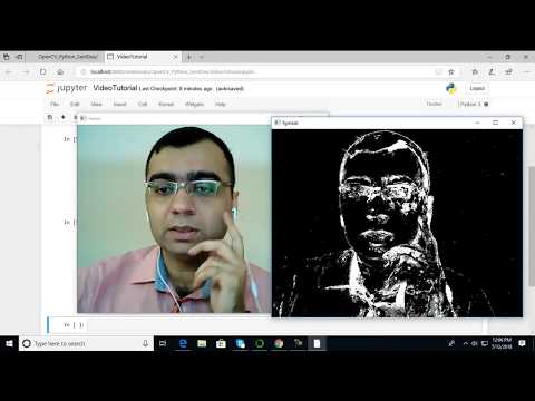 MOG Background Reduction - OpenCV with Python for Image and Video