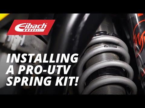Installing an Eibach PRO-UTV Spring Kit