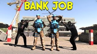 BANK JOB! - Arma 3: Life (Takistan) - Ep.5