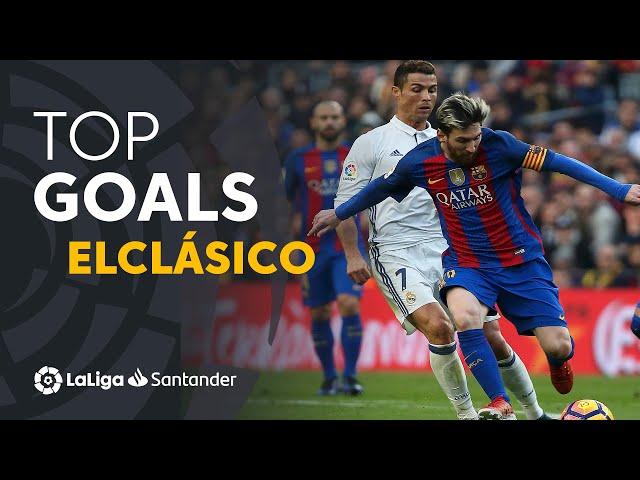 TOP 10 GOALS ElClásico 2009 - 2019