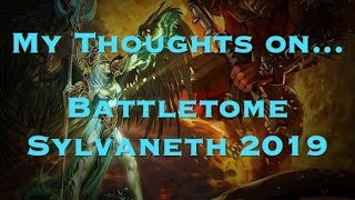 NEW SYLVANETH Battletome Review Age of Sigmar - Thủ thuật