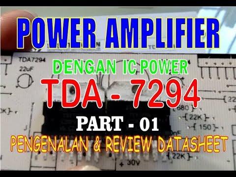 TDA 7294 IC BASED STEREO - смотреть онлайн на Hah Life