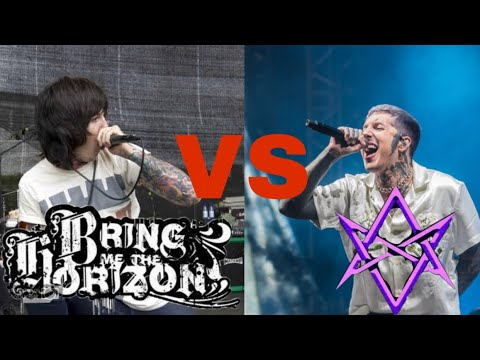 BMTH 2008 Vs BMTH 2018 (Oliver Sykes Scream) | Live Concert Compilation