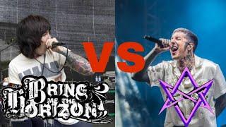BMTH 2008 vs BMTH 2018 (Oliver Sykes Scream) | Live Concert Compilation