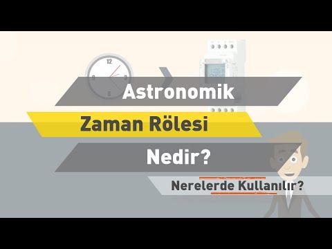 Astronomik Zaman Rölesi Nedir? Nerelerde Kullanılır?