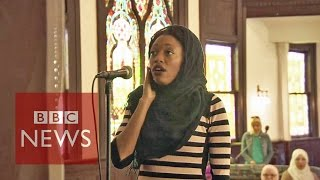 US first women-only 'mosque' BBC News