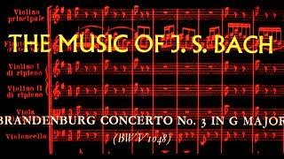 JS Bach / Thurston Dart, 1958: Brandenburg Concerto No. 3 in G Major BWV 1048