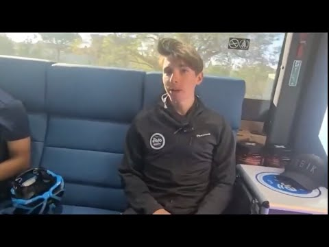 """Lorenzo Fortunato (Eolo-Kometa): """"Una buona prima parte di Giro"""""""