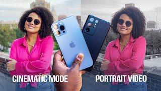 iPhone 13 Pro Max vs Galaxy S21 Ultra - Cinematic vs Portrait Video