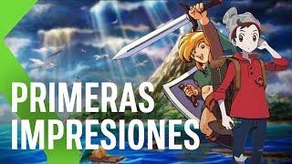 JUGAMOS a POKEMON ESPADA/ESCUDO y TLOZ LINK'S AWAKENING en el E3 2019 | GAMEPLAY