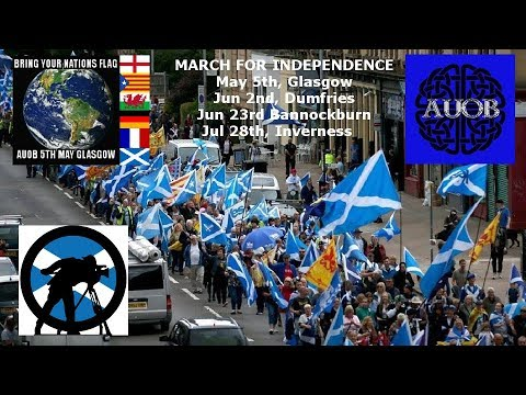 March for Indy - Glasgow. Main coverage.