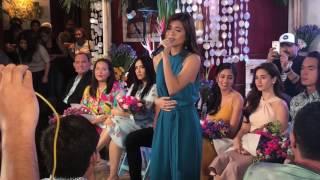 Maris Racal sings Ikaw Lang Ang Iibigin theme song