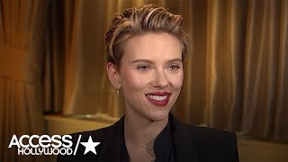 Scarlett Johansson On The Possibility Of A Black Widow Standalone Movie   Access Hollywood