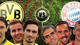 DORTMUND vs. BAYERN - Champions League RAP BATTLE