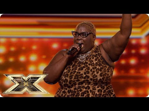 Burgandy Williams Wants Respect With Aretha Franklin Hit | Auditions Week 2 | The X Factor UK 2018 Mp3