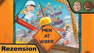 Men At Work - Brettspiel - Review