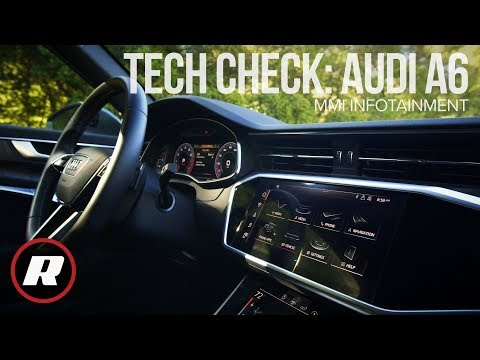 Tech Check: Audi MMI Touch Response in the 2019 A6 - 4K
