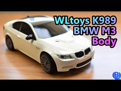 How to use BMW M3 body with WLtoys 1/28 K989