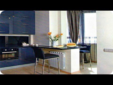 Дизайн Кухни Совмещенной с Балконом / Kitchen Design Ideas /