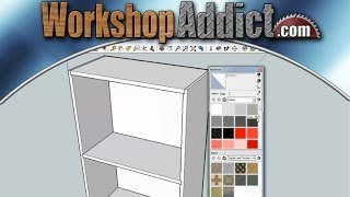Learn how to use sketchup --- tutorial #1