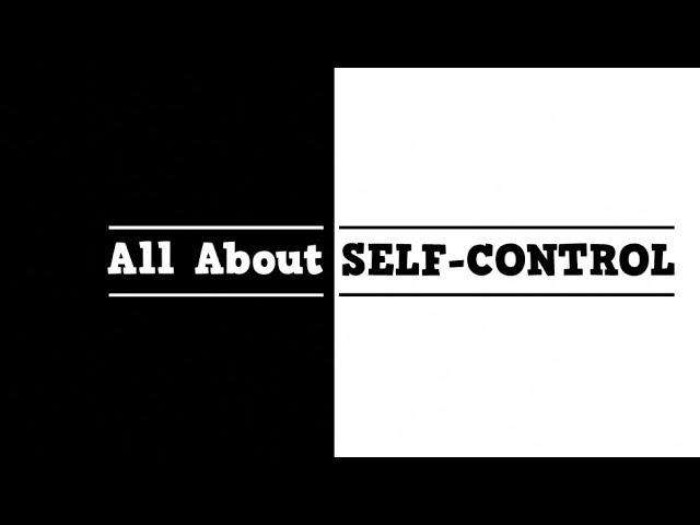 All About Self Control (song for kids about controlling your body and words)