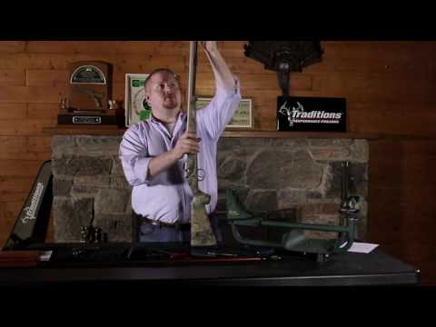Traditions Firearms Video Series - How to Disassemble Your Traditions Bolt Action Muzzleloader