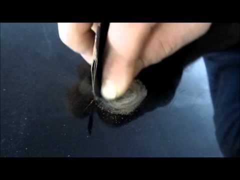 Как убрать небольшую ржавчину. How to removal a small rusty area.