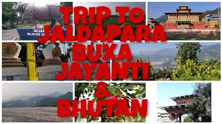 preview picture of video 'An Epic Trip From JALDAPARA to BHUTAN to HOME '