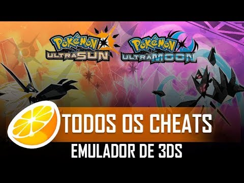 EMULADOR DE 3DS [CITRA] - CHEATS POKÉMON ULTRA SUN / ULTRA