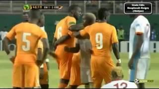 Ivory coast Vs DRC,  Cote d