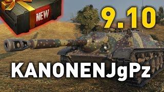 World of Tanks || Kanonenjagdpanzer - 9.10 Preview