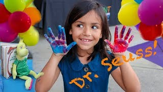 Amazing Dr. Seuss Arts & Crafts Fun For Kids