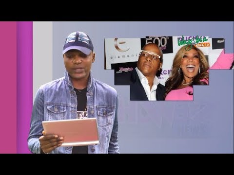 WENDY WILLIAMS SERVES HER HUSBAND DIVORCE PAPER IN A GIFT BOX