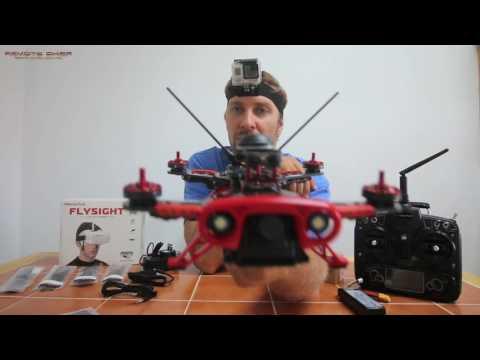 RACING DRONE UN-BOXING - WONDERTECH REBEL QUADCOPTER REVIEW
