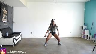 8 Minute EASY Dance Workout -Keaira LaShae by superherofitnesstv