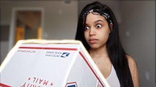 WHATS IN MY BOX ft. Krystal Mari Vargas