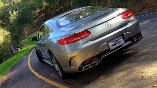 2015 Mercedes Benz AMG S63 Coupe FIRST DRIVE REVIEW
