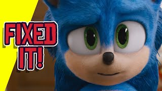 Sonic the Hedgehog is FIXED! Sonic Looks GREAT!