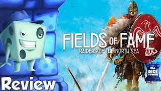 Raiders of the North Sea: Fields of Fame Review - with Tom Vasel