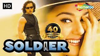 Soldier (HD)   Bobby Deol   Preity Zinta   Johnny Lever   Bollywood Hindi Full Movie