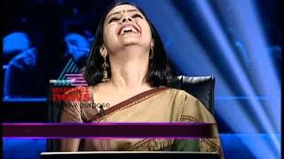Actress Samvrutha Sunil at Ningalkkum Aakam Kodeeshwaran